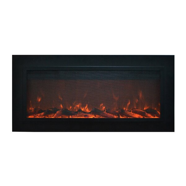 Sideline Steel™ Wall Mounted Electric Fireplace by Touchstone